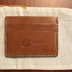 Shell Cordovan Ashland Leather card case